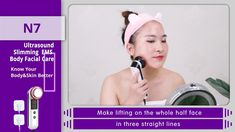 3IN1 Ultrasonic LED Photon Electric Massager Anti Aging Beauty Machine,remove wrinkles,remove spots, acne, pouch and black rim of the eye, desalt scar ,tighten the skin, increase skin elasticity .Keep youthful and beautiful Led Therapy, Wrinkled Skin, Wrinkle Remover, Skin Elasticity, Facial Care, Skin Tightening, Skin Problems, Anti Wrinkle, Skin Treatments