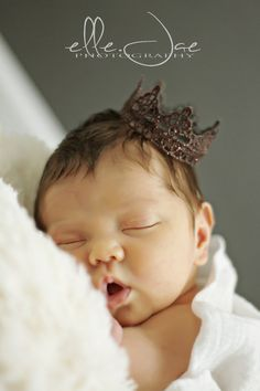 Newborn Baby Crowns