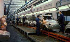 Fiat Cinquecento Assembly line