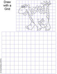 Grid Art Worksheets | GridArt.gif - 42315 Bytes