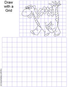 Printables Grid Art Worksheets pin by kimberly g on art worksheets pinterest kid and grid gridart gif 42315 bytes
