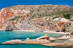 Η Φυριπλάκα με τρία αστέρια πρώτη παραλία της Μήλου