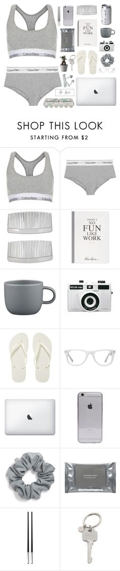 """lonesome summer"" by neightasha ❤ liked on Polyvore featuring Topshop, Calvin Klein Underwear, John Lewis, Selfridges, CB2, Holga, Havaianas, Muse, Natasha Couture and Dermalogica"