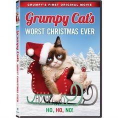 Grumpy Cat's Worst Christmas Ever on DVD