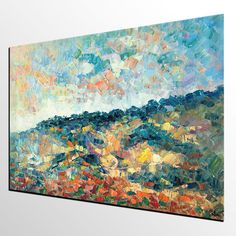 Abstract Landscape Art Large Painting Abstract Art Abstract