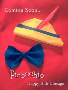 Pinocchio party favors