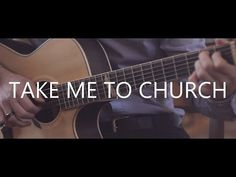▶ Take Me To Church - Hozier (fingerstyle guitar cover by Peter Gergely) - YouTube