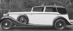 1934 Sedanca de Ville by Lancefield (chassis 176SK) for Jack Barclay