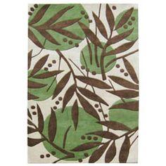 polka dot leaf print