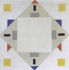Composition géométrique by Vilmos Huszar