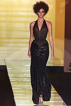 Versace Spring 2001 Couture Fashion Show: Complete Collection - Style.com