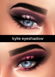 Kenzar Sims: Kylie Eyeshadow • Sims 4 Downloads