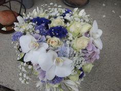 brudebukett blå - Google Search