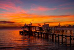 Dock of the Bay by TPorter2006, via Flickr - Galveston Bay
