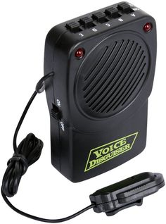 voice changer with microphone