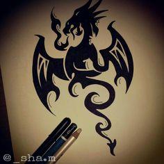 #tattoo #dragon