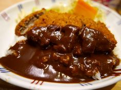 念願の名物ドビーライスと重ね揚げは独特の味わいでした! 神戸市 「洋食屋 双平」   Mのランチ