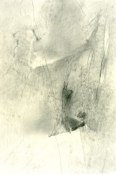 Gerhard Richter / Graphite on paper, 1985 Zentangle Drawings, Abstract Drawings, Cool Drawings, Abstract Art, Gerhard Richter, Graphite Art, Conceptual Drawing, European Paintings, Pop Art
