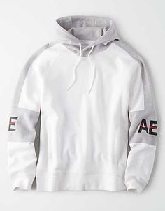 American Eagle Outfitters Men's & Women's Clothing, Shoes & Accessories AE Color Block Pullover Hoodie – Stylish Hoodies, Cool Hoodies, Comfortable Mens Dress Shoes, American Eagle Outfitters, New T Shirt Design, Pullover Hoodie, Hoodie Outfit, Mens Outfitters, Mens Sweatshirts