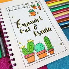 Bullet Journal School, Bullet Journal Ideas Pages, Bullet Journal Inspiration, Notebook Art, Notebook Covers, School Notebooks, Cute Notes, Decorate Notebook, School Notes
