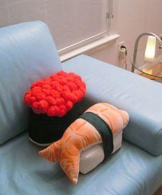 Sushi Pillows