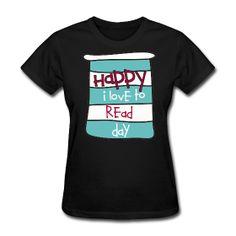 Happy I Love To Read Day  http://kreativeinkinder.spreadshirt.com/