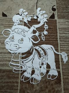 Cow Coloring Pages, Diy And Crafts, Paper Crafts, Wood Carving Patterns, Pop Up Cards, Pretty Pictures, Paper Cutting, Quilling, Metal Working