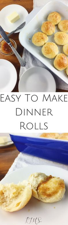 I am going to share with you my recipe and technique to making easy yeast dinner rolls!