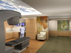 Marlborough Hospital Cancer Pavilion - LINAC Room