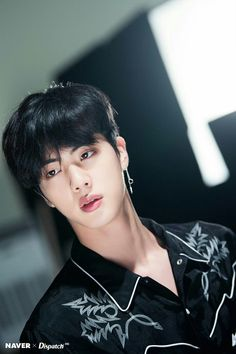 Jin from bts with grey hair Jimin, Bts Jin, Jungkook Jeon, Kim Namjoon, Bts Bangtan Boy, Taehyung, Rapmon, Seokjin, Btob
