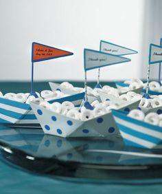 Blue-Polka-Dot-or-Stripes-Nautical-Boat-Favor-Boxes