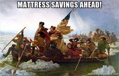 Happy President's Day Mattress Sales!