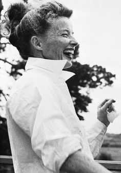Katharine Hepburn at the Festival Theatre in Stratford, Connecticut - 1957. This Lady's autobiography is amazing. it's called: Me. Well done lady!
