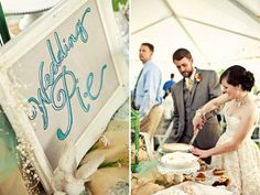 wedding pie for groom?