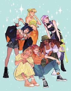 Winx Club, Les Winx, Wow Art, Character Design Inspiration, Cartoon Art, Cute Drawings, Art Sketches, Cute Art, Art Inspo