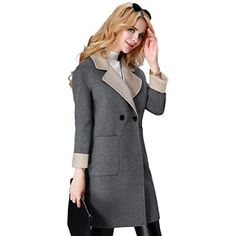 YB Women's Double Faced Wool Coat #10 Medium Gray Your Be... https://www.amazon.com/dp/B01M2XEGSW/ref=cm_sw_r_pi_dp_x_CTkfybDMTNZBQ