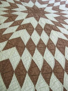 A classic pattern - Texas Star variation- that stumbles many quilters.  The issue is bias.  I am planning to made a quilt similar to this one in black and white.  My biggest hint?  Use a fine cotton underlining - makes a world of difference.
