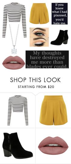 """Fourth Year"" by i-love-5sosand1d ❤ liked on Polyvore featuring Miss Selfridge, Topshop and Skechers"