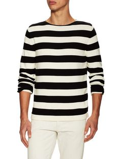 Ribbed Graphic Sweater by Gucci Clothing