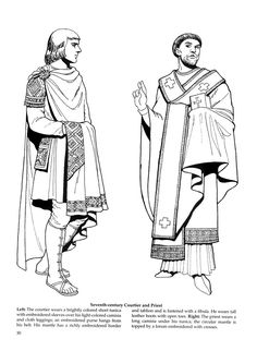Byzantine Fashions 26 / Byzantine Fashions / Kids printables coloring pages