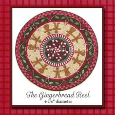 The Gingerbread Reel Miniature Knotwork Kit on Etsy, $35.00