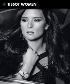Brand name watches hot sale: Tissot watches,Casual fashion off sale. Beautiful Female Celebrities, Most Beautiful Women, Brand Name Watches, Black And White Google, Danica Patrick, Lucky Man, Luxury Watches For Men, Race Day, New York Giants