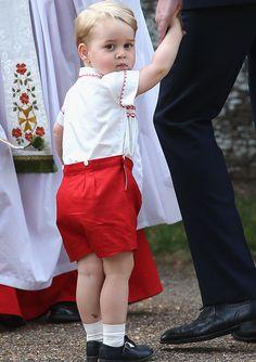 El Príncipe George y su apodo para la Reina Isabel II