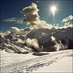 Verbier is a ski resort in the Swiss Alps, in the canton of Valais.