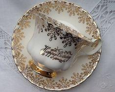 Vintage Royal Albert Tea Cup and Saucer Bridal Shower Tea