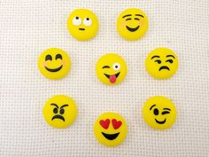 ilfilodelleidee: Calamita smile in fimo - polymer clay smile magnet
