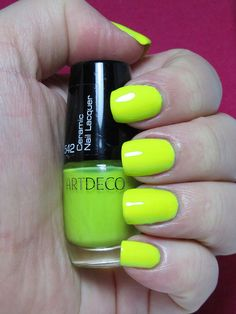 ArtDeco Ceramic Nail Lacquer 542 2C with TC over white by CucumPear, via Flickr