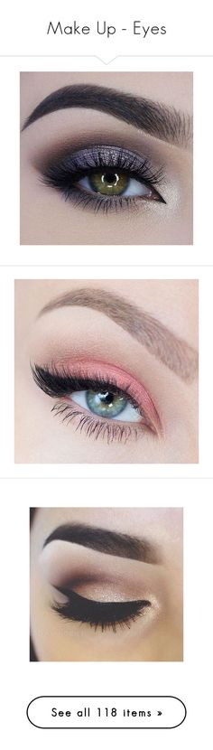"""Make Up - Eyes"" by giovanna1995 ❤ liked on Polyvore featuring beauty products, makeup, eye makeup, eyes, beauty, makeup looks, eyeshadow, filler, photo and eyeliner"