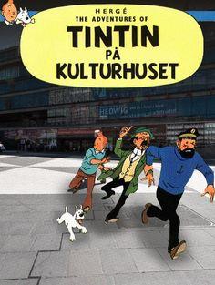 Tintin på kulturhuset | Nöjesguiden Haddock Tintin, Album Tintin, Captain Haddock, Fantasy Comics, Boy Art, Tobias, You Funny, Sailor, Panda