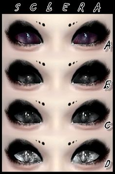 Decay Clown Sims: Sclera – eyes • Sims 4 Downloads
